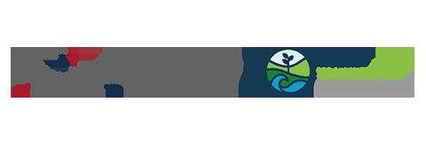 Logos MiAmbiente y Panamá Transformate - colores